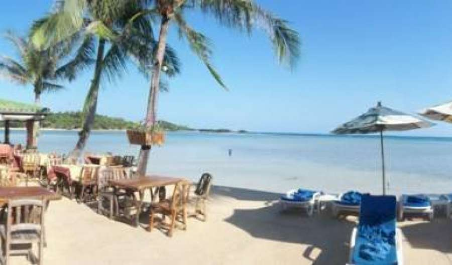 travel locations with hotels and hostels in Chaweng Beach, Thailand